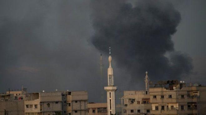 Suuriya:-Madaxwayne Assad Oo Sheegay In Duqaynta Bariga Ghouta Ay Sii Socon Doonto