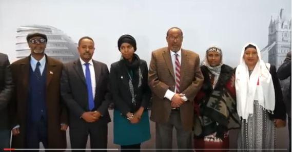 Daawp: Madaxweynaha Somaliland iyo weftigiisii oo Gaadhay London Sii Diirana logu So Dhoweyey Heathrow Airport