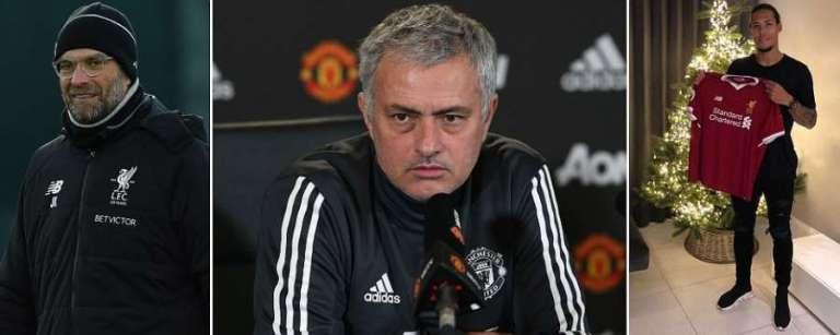 Liiska Ciyaartoyda Manchester United Ee U Safray Everton Oo La Shaaciyay & Jose Mourinho Oo Dib U Helay Laba Xidig Oo Muhiim Ah.