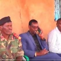 Daawo;Gudomiyaha kuxigeenkiisa Saraakiish Ciidanka Qaranka Somaliland Ayaa Gaadhay Degmada Dharkayn Geny.