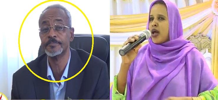 Hargeisa:- Haween Waynaha Magaalada Hargeisa Oo Eedihii Ugu Cuslaa U Diray Wasiirka Warfaafinta Somaliland.