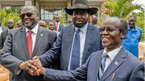 Hogaamiyaha Mucaaradka Dalka South Sudan, Riek Machar, Oo Xilkii Madaxweyne Kuxigeenka Koobaad Laga Qaaday. -