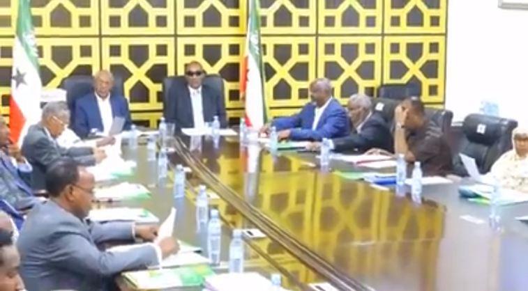 Hargeysa: Daawo Kalfadhigii 7aad ee Golaha Wasiirrada Somaliland iyo Nuxurka Qodobadii lagu lafa guray