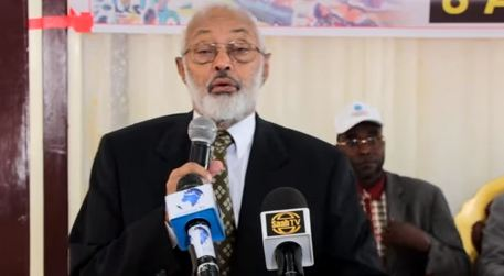 """Hargeisa:- """"UN-Ka Hargaysa Joogaa Magaca Somaliya Ayay Ku Joogaan Taasina Waa Ceeb""""Mujaahid Maxamed Xaashi."""