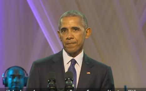 Daawo: Obama Oo Ka Qayb Galay Xafladii Muusig Ee Ugu Danbaysay Madaxtinimada Iyo Aqalka Cad -