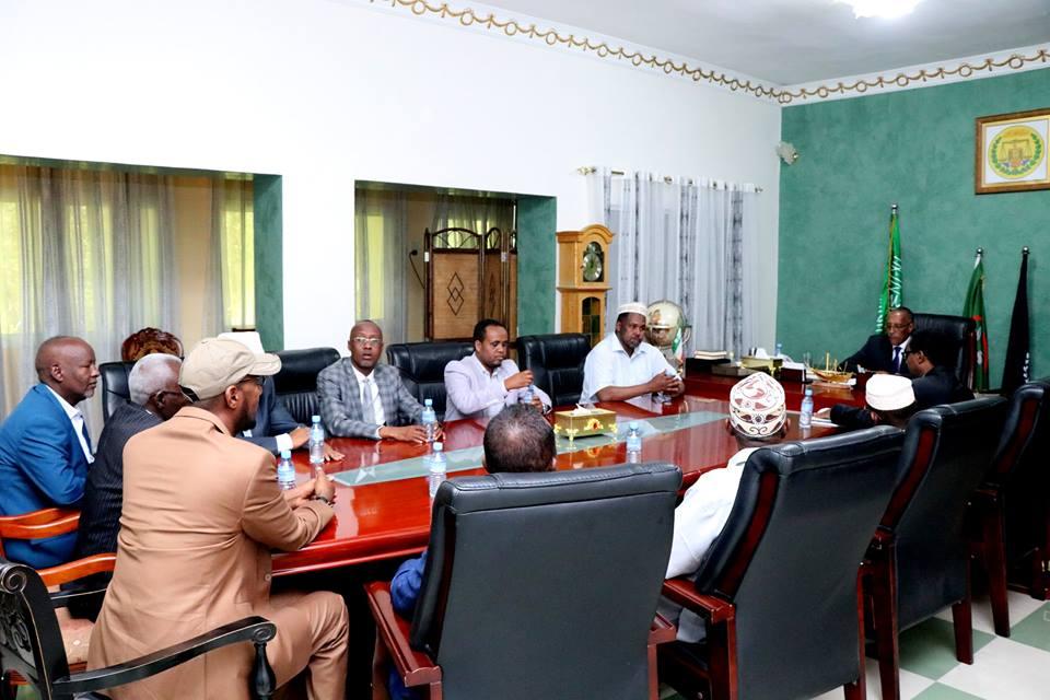 Hargeisa:- Madaxweyne Muuse Biixi Oo Kulan La Qaatay Maxkamadda Sare Iyo Bahda Garsoorka Somaliland.