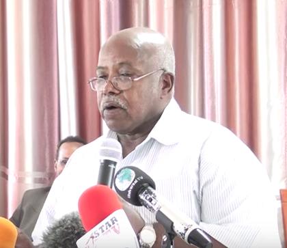 La Taliyaha Madaxweynaha Ee Doorashooyinka Iyo Asxaabta Oo Tallo U Jeediyey Golaha Guurtida Somaliland