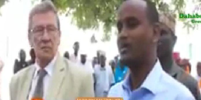 Daawo;Wafdi Ka Socday Dalka Netherland Oo Kulan La Qaatay Madaxda Koonfur Galbeed Ee Dalka Somaliya
