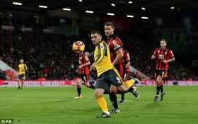 Bournemouth Oo Wacdaro Layaableh Ku Dhigtay Arsenal, Gunners Oo Toban Ciyaartoy Oo Bournemouth Ah Dirqi Kula Barbaraysay