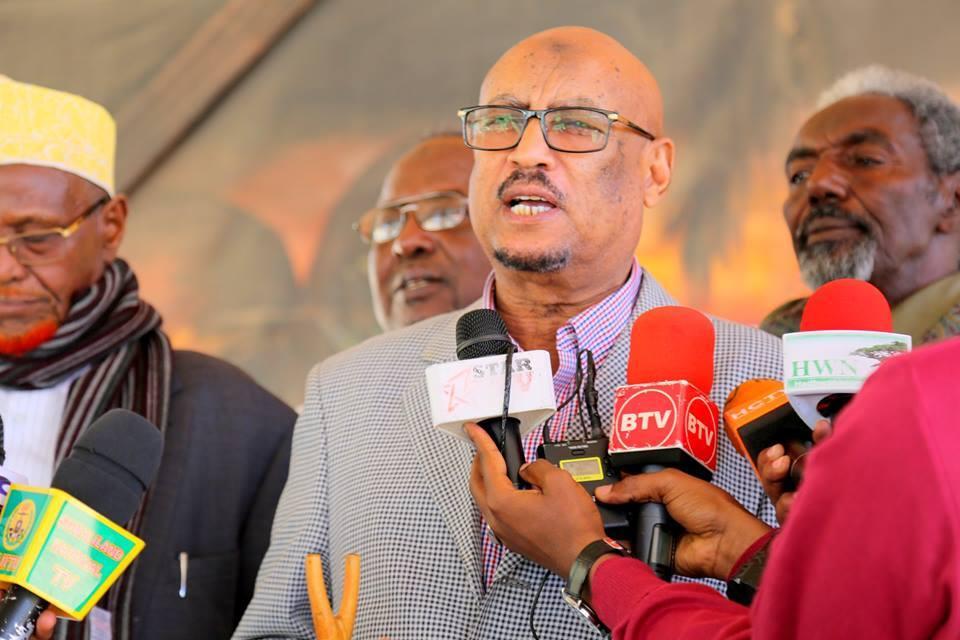 Daawo:Faysal Cali Waraabe Oo Sheegay In Golaha Guurtida Lagu Bedali Doono Abwaaniinta Somaliland