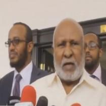 Daawo:Gudoomiyaha Golaha Guurtida Somaliland Oo Xadhiga Ka Jaray Dhismayaal Cusub Oo Laga Hirgeliyay Aqalka Baarlamaanka Somaliland.