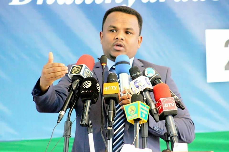 Gudomiyaha Hay'ada Shaqalaha Somaliland Sharmarke Gelle Oo Shegay In Hakad Kooban Ku Jirto Qadashada Shaqalaha Cusub Ee Sanadkan Shegayna Xilaga Ay Furmayso.