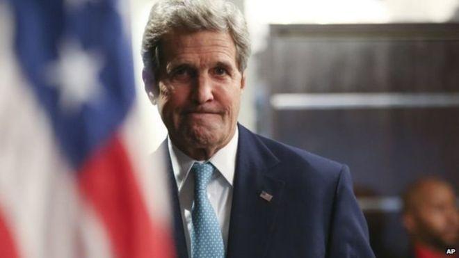 John Kerry oo soo dhaweeyay wadahadallada Suuriya