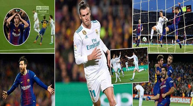 Cayaaraha: Real Madrid Oo Barbar-dhac La Gashay 10 Ciyaartoy Oo Barcelona Ah