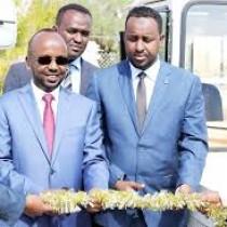 Daawo:Wafti Balaadhan Oo U Hogaaminaayey Wasiirka Duulista Hawada Somaliland Ayaa Maanta Gaadhay Magaalada Boorama Ee Xarunta Gobolka Awdal
