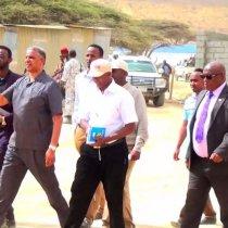 Daawo:Wasiirada Madaxtooyada iyo Qorsheynta Somaliland Oo Soo Kormeeray Dib u Dhiska Dugsiga Caanka Ee dayaxa Ee Gobolka Sanaag.