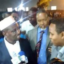 Madaxwaynahai Hore Ee Somaliya Oo Si Baladhan Lagu Soo Dhawayay Magalada Nairobi Ee Dalka Kenya+Sawiro