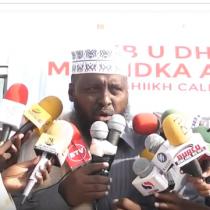 DAAWO Maayir Maxamed Muraad Oo Bulshada Islamic Ah Ugu Baaqay In Ay Ka Qayb Qaatan Dib U Dhiska Masjika Al-huda Ee Magalad Burco.
