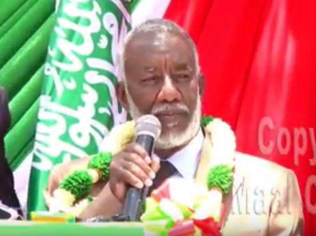Daawo: Wasiirka Cusub Ee Wasaarada  Arimaha Gudaha Somaliland Nuxkurkii Khudbadii Xilka Kula Wareegay