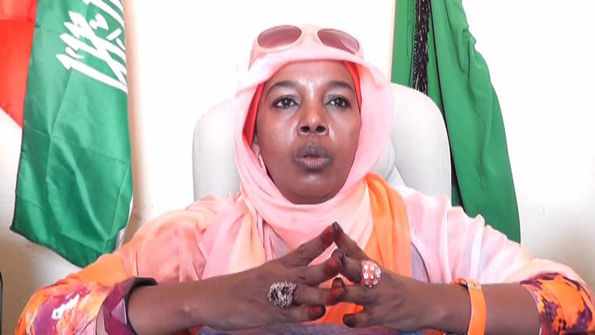 Xukuumadda Somaliland ayaa Xabsiga u taxaabtay Guddoomiyihii Xisbiga UCID ee gobolka Saaxil Marwa Rooda Axmed Yaasin.