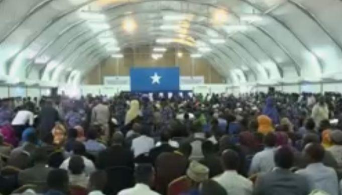 War Deg Deg ah: Wareegi 2aad oo Si toosa loogu Doortay Madaxweynaha Somalia Loona Dhaariyey