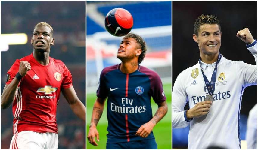 Wax Ka Ogow TOBANKA Heshiis Ee Ugu Qaalisan Taariikhda Kubada Caalamka – Neymar, Pogba, Ronaldo Oo Ka Dhex Muuqda.