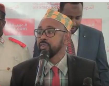 Daawo;Wasiiru Dawlaha wasarada Duulista iyo Hawada Somaliland Oo Si faahfahsan Uga Hadlay Furitaanka Shirkada Diyaaradaha Air Arabia.