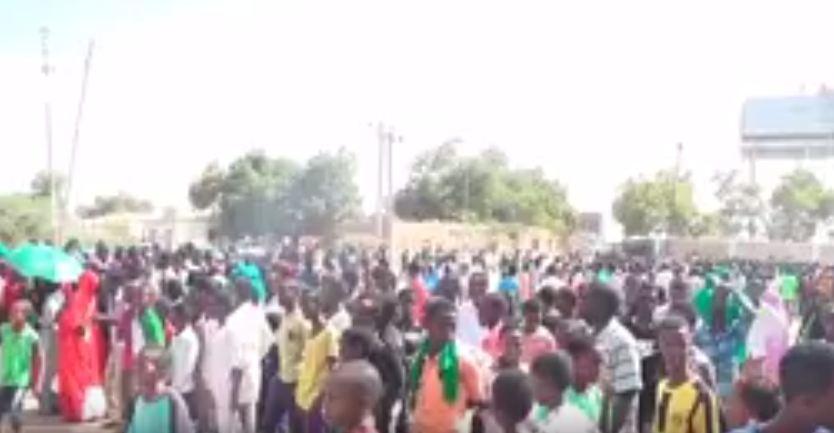 Daawo;Xisbiga Ucud Oo Maanta Wcdaro Ka Dhigay Magaalada Burco