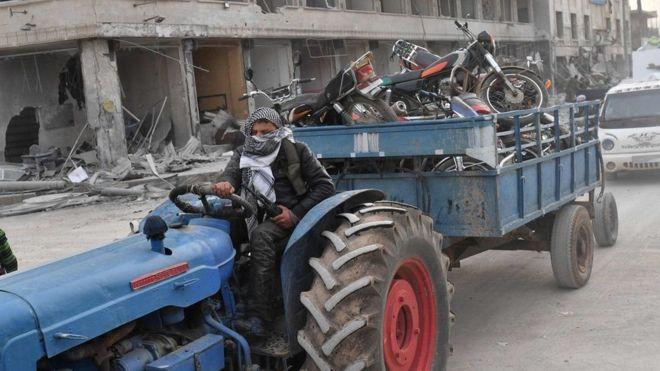 Turkiga:-Xukuumada Turkiga oo sheegtay in ciidamadeeda ay kala baxayso Afrin