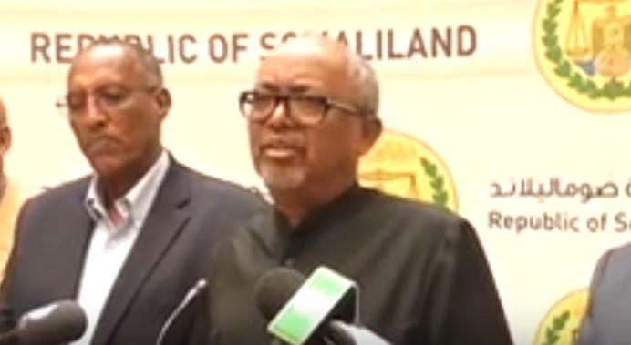 War Deg Deg Ah:Madaxwayne Ku Xigeenka Somaliland Oo Ku Dhawaaqay Inaanay Dalka Doorasho Ka Dhici Karin Sheegay In Muddo Kordhin La Sameynayo