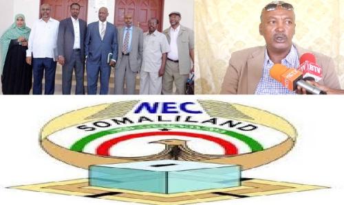 Hargaysa:- Mid Ka Mida Xildhibanada Golaha Guurtida Somaliland Oo Soo Jeediyay In Lakale Diro Gudida Doorashooyinka.