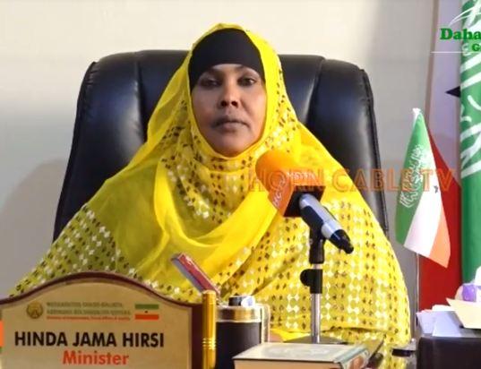 Wasiirka Wasaarada Shaqo Galinta iyo arrimaha Bulshada Oo Ka Hadashay Ciidamada Qadar Ka Qoranayso Somaliland