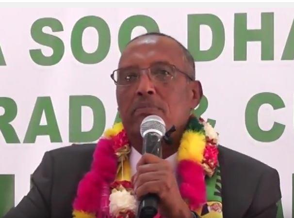 """Deg Deg;""""Hadaad Qaran Somaliland Yaqiinsantahy Isu Keen Ken Hadii kalana Inaka Kaxe""""Guddomiyaha Xisbiga Kulmiye Oo Si Kulul ula hadlay madaxwayanaha Somaliya."""