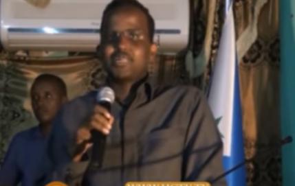 Daawo;Wasiirka Arimaha Gudaha Somaliya Oo Ka Hadlay Khilaafka Ka Dhex Taagan Maamulka Galmudug Iyo Culuma Udiinka Ahlusuna Wal Jamaca