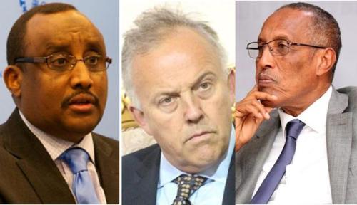 Mickel Keating oo Warqad Hanjabaad Ah uu Soo Diray Somaliland Iyo Puntland