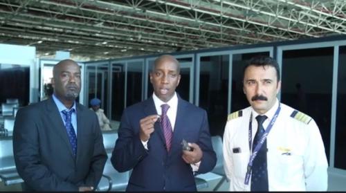 Dawlada Soomaaliya Oo Ka Hadashay Sababaha Keenay In Diyaarada Turkish Airlines Mudo Sadex Cisho Ah Ka Degin Garoonka Muqdisho