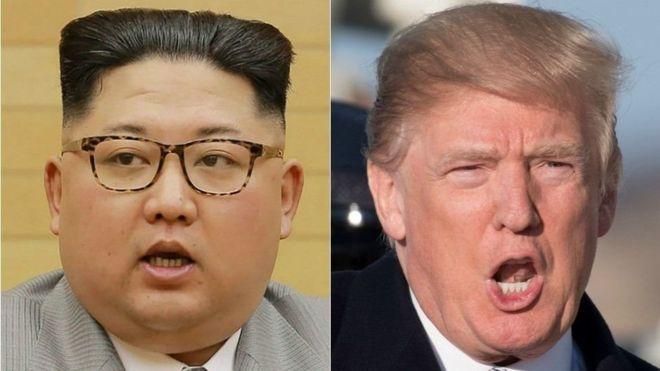Caalamka:-Trump oo isku dayaya inuu khafiifiyo walaaca Kuuriyada Waqooyi ay muujisay