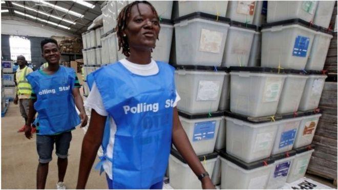 Liberia oo maanta doorasho loo dareerayo