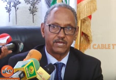 War Deg Deg Ah Wasiirka Ganacsiga Somaliland Oo Hada Magacabay Gudida Ka Soo Talo Bixinta Shidaalka Wasakhaysan Ee Dalka Soo Galay.