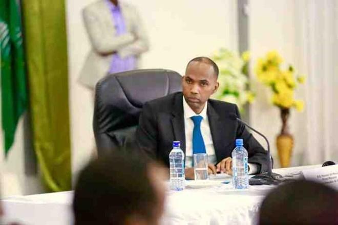 Ra'iisal wasaare Somalia Oo Bogaadiyay taageerada mashaariicda hormarineed ee dowladda Mareykanka.