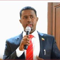 DAAWO Afhayeenka Cusub Ee Loo Soo Magacaabay Madaxtooyada Somaliland Oo Xilkii Kala Wareegay Afhayenkii Hore.