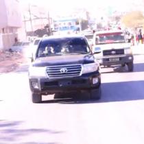Daawo:Waftigii Soo Saxiixay Heshiiska Saldhiga Militari Ee Imaaraadka Iyo Somaliland Oo Dalka Kusoo Laabtay, Dadwaynaha Oo Si weyn Usoo Dhaweeyay.
