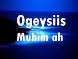Ogeysiis Munaasibada Caweyska Iyo Qubojoogta Gobolka Togdheer