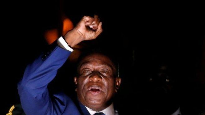 Mnangagwa oo maanta loo dhaarinayo madaxweynaha Zimbabwe