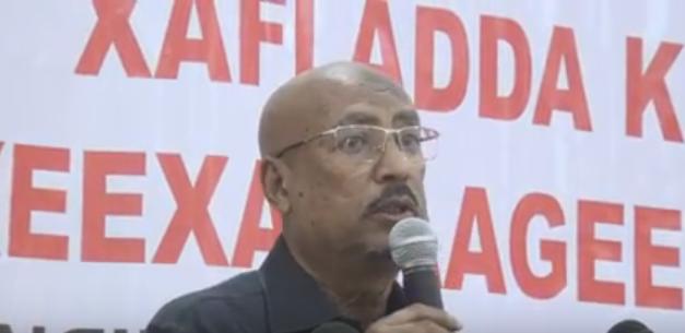Daawo:Gudomiyaha Xisbiga Oo Khudbad Ka Jediyey Munasibad Lagu Soo Bandhigaayey Saxeexyada Dadka Reer Somaliland Ku Dalbadeen Aqoonsi.