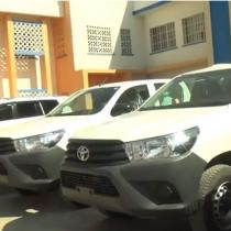 Hargaysa:-Ciidamada Booliska Somaliland Oo Lasoo Gaadhsiyay Gadiid Casri Ah Iyo Cida Ugu Deeqday.