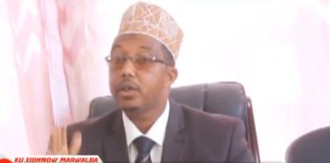 Daawo:Xildhibaan Maxamed Sh Cabdiraxmaan Oo Kamid Golaha Wakiilada Somaliland Soo Dhaweeyey Saldhiga MIlatari