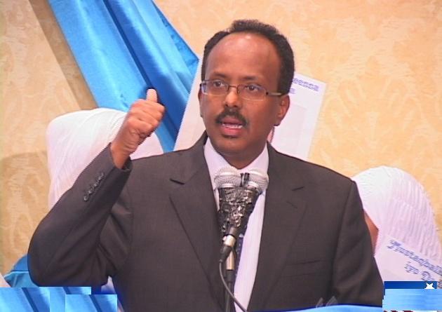 War Deg Deg Ah:Madaxweynaha Cusub Ee Somaliya Oo Faafihiyey Qorshihiisa Boqolka Maalmood Ee Igu Horeeya +Muuqal