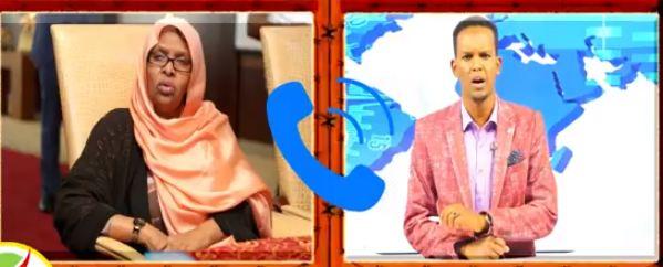 Hargeysa:Daawo: Samsam Cabdi Aadan oo ka Hadashay Wararka Sheegaya inay Muqdisho Joogto