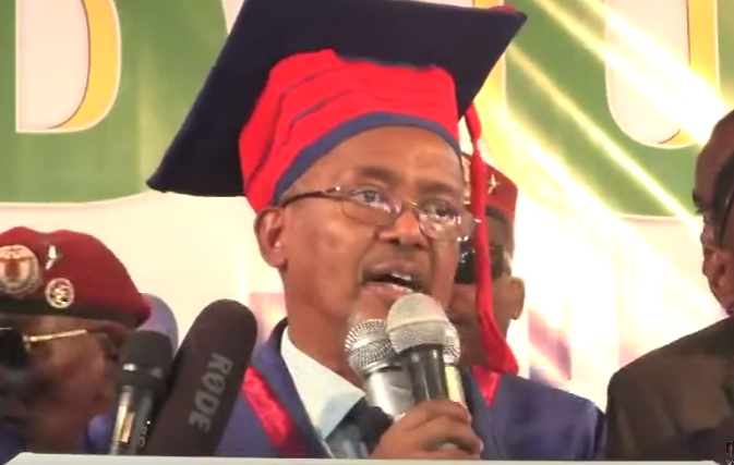 Daawo;Khudbadii Uu Ka Jeediyay Madaxwayne Ku Xigeenka Somaliland Qalin Jabinta Ducadii 16ad Ee Jamacada Camuud Ee Magalada Boorama.